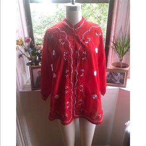 Vintage Kimono-Top
